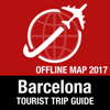 Barcelona Tourist Guide + Offline Map