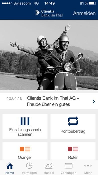 Screenshot von Clientis BIT1