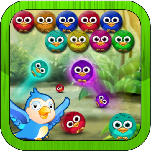 Rescue Birds - Play Ball For Kids iOS App