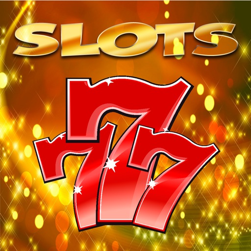 Red 777 Vegas Slots Machine Game iOS App