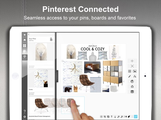 Morpholio board interior design decor moodboard on the for Homestyler old version