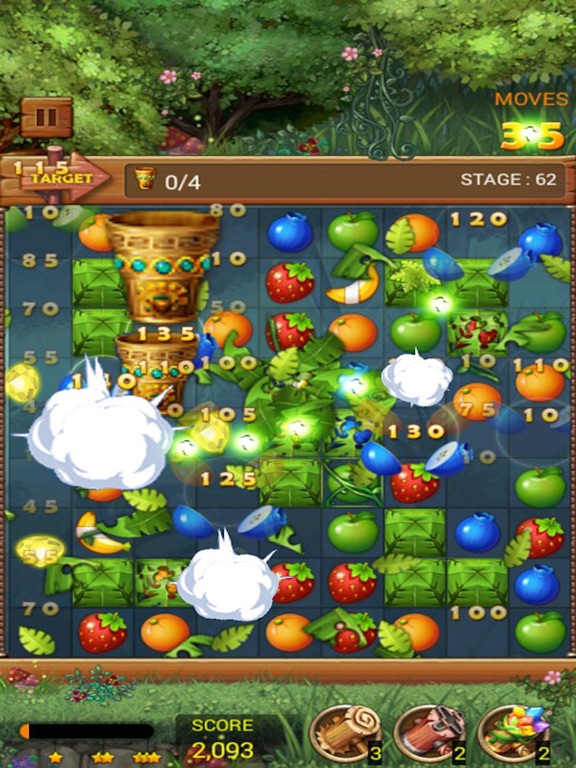 Фруктовый лес: Радужное яблоко Скриншоты9