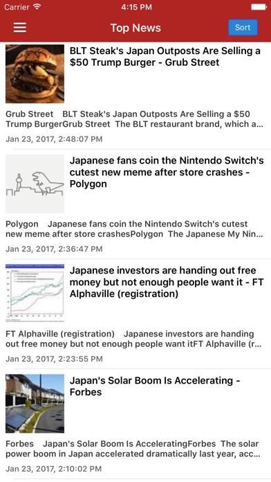 Japanese News in Engl... screenshot1