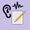 Audio transcription by speech recognition on file
