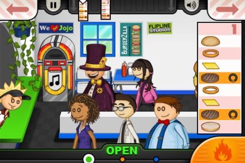Papa's Burgeria To Go! screenshot 4