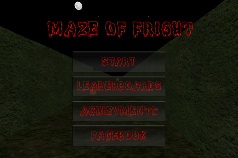 Maze Of Fright screenshot 1