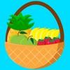 Пакет стикеров «Веселые фрукты»