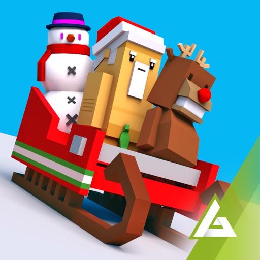 Road Hopper: Crazy Santa