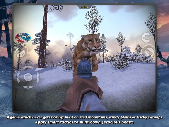 Screenshot #4 for Carnivores: Ice Age Pro