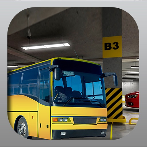 City Bus Parking Free Icon