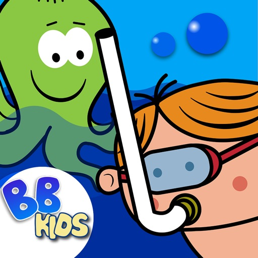 Oceania: Sea Creatures Kids Story Coloring & Games