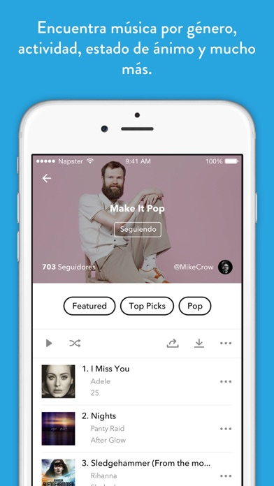App musica streaming gratis iphone