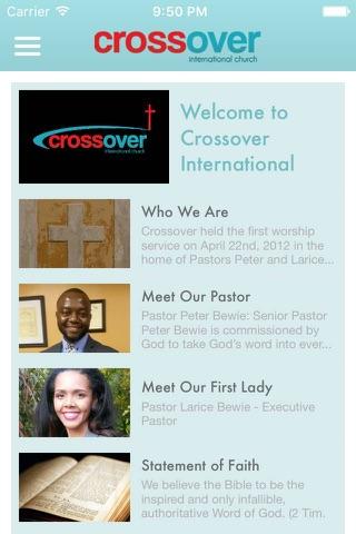 Crossover International Church screenshot 4