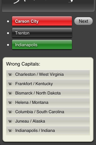 Capital Quiz screenshot 3