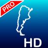 Aqua Map Argentina HD Pro - GPS y Cartas Náuticas