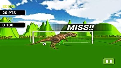 Screenshot of Calcio di rigore con Dinosauri-un gioco di simulaz3
