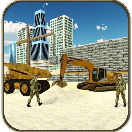 City Construction Border Wall & Driving Game iOS App