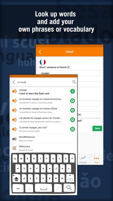 Learn French - MosaLingua Screenshot
