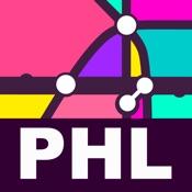 Philadelphia Transport Map - Rail Route Planner
