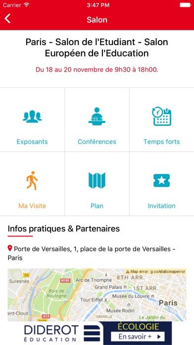 download Salons de l'Etudiant: orientation, études, métiers apps 2