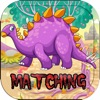 Dino Pairs Games Puzzles : Dinosaur Match for Kids