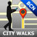 Barcelona Map and Walks, Full Version