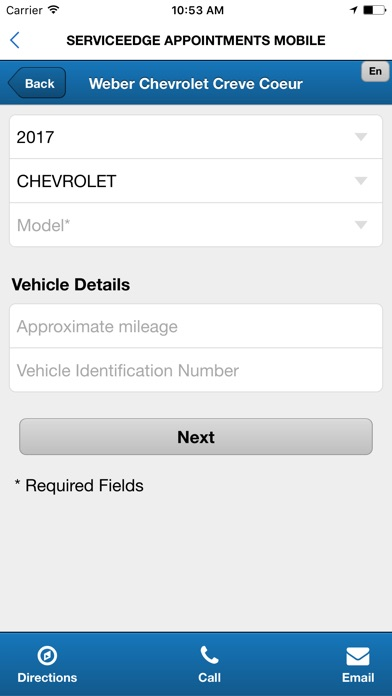 Screenshot of Weber Chevrolet5