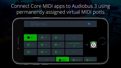 Midiflow Adapter (Audiobus) Screenshot