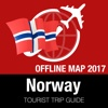 Norway Tourist Guide + Offline Map norway map