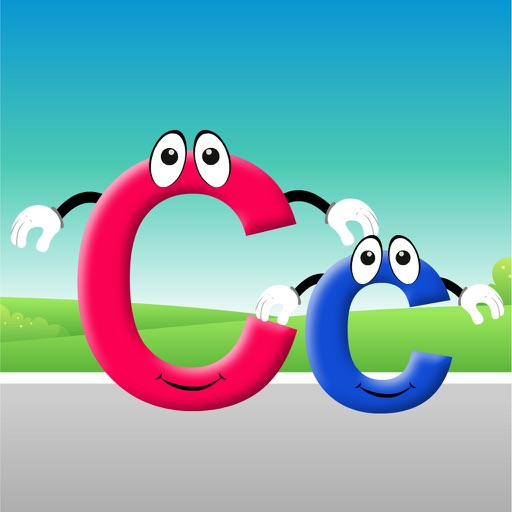 Roadway Course with Letter Cc iOS App