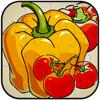 Jigsaw Puzzle Juego de verduras Diversión para