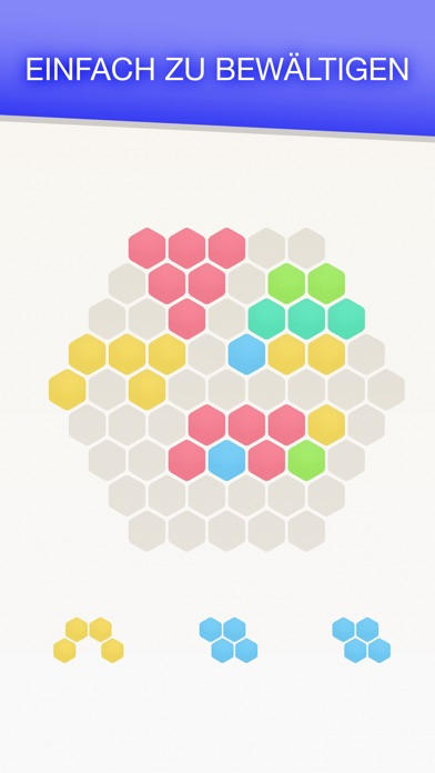 Screenshot von Hex FRVR - Hexagon Puzzlespiel2