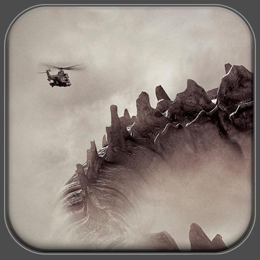 Fly Pixel Monster for Godzilla iOS App