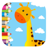 Giraffe Coloring Page Games For Kids Version Wiki