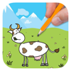 Big Cows Coloring Book For Kids And Preschool Wiki