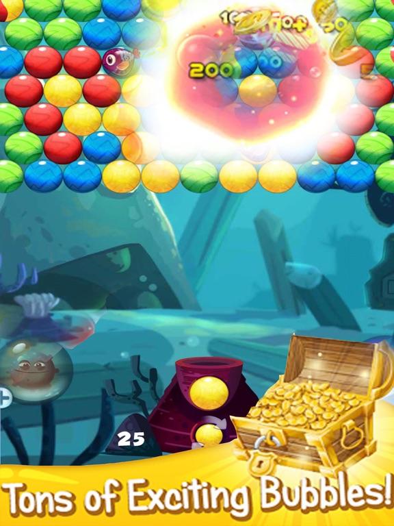 App shopper bubble fish match games for Bubble fish games