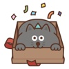 Jiggling Cat Animated Stickers animated
