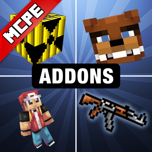 MCPE ADDONS with FNAF & Pixelmon for Minecraft PE
