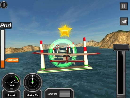 飛行パイロットシミュレータ3D