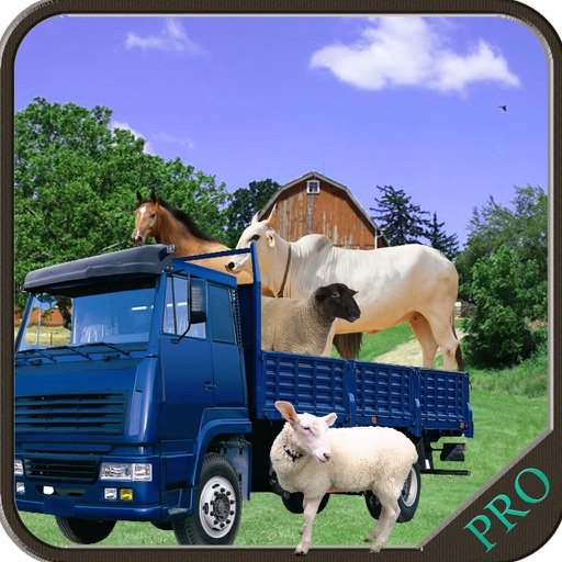 Farm Animal Transport Truck Parking Sims
