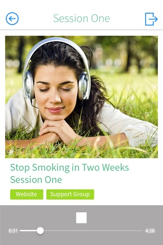 Stop Smoking in Two Weeks - With Hypnosis! screenshot 2