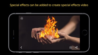 Screenshot #4 for Anime FX - Add Super Effects to Video & Movie