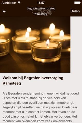 Begrafenisverzorging Kamsteeg screenshot 2