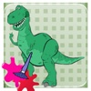 Shark Donosaur Hunter coloring game for kid