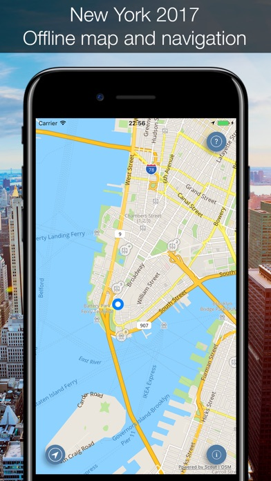 New York 2017 Offline Map And Navigation App Download