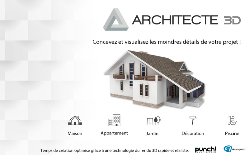 Architecte 3d 2017 par avanquest north america for Architecte 3d avanquest