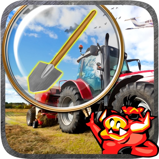 Tractor Hidden Object Games iOS App