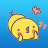 download Lovely Yellow Chicken Stickers