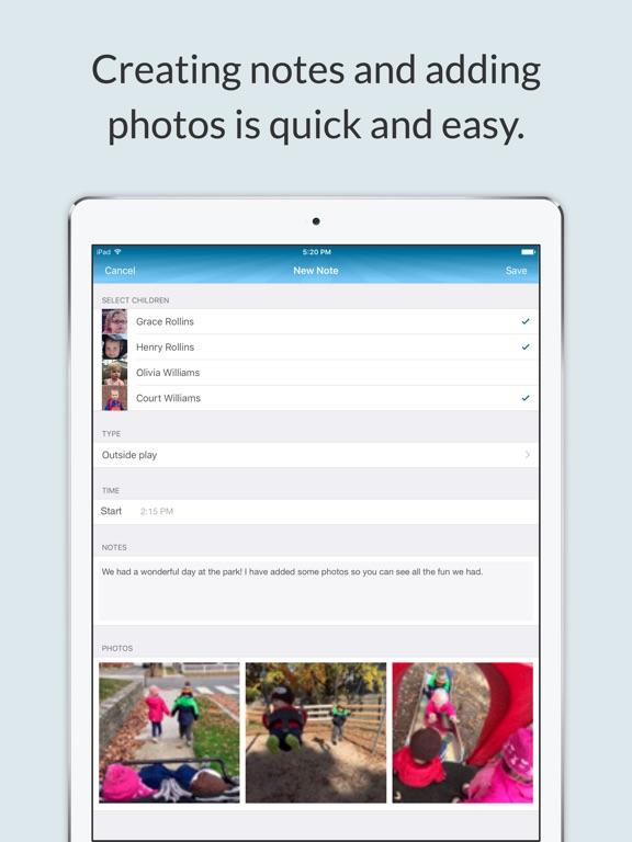 NannyNotes (Daily sheet for parents & nannies) Screenshots