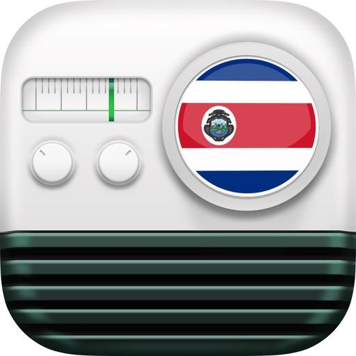 Radios de Costa Rica: Emisoras Radio FM AM Icon